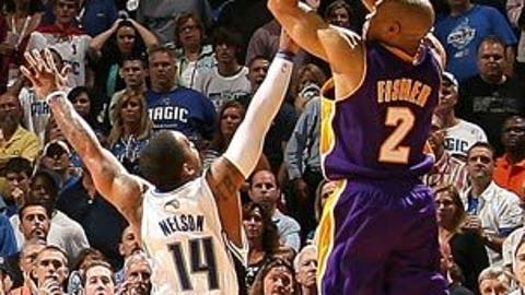 Derek Fisher's tying three vs. Magic, 2009 Finals
