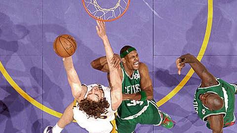 2008: Lakers 92, Celtics 83