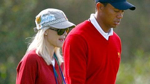 Tiger Woods and Elin Nordegren Woods