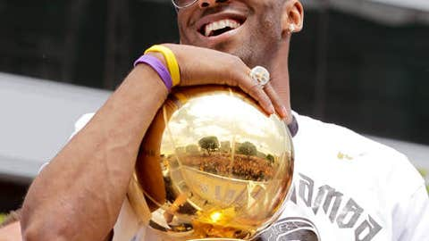 Kobe Bryant, SG, Los Angeles Lakers