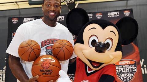 Dwyane Wade, SG, Miami Heat