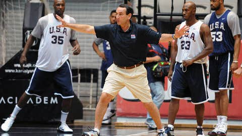 Coach K is in control