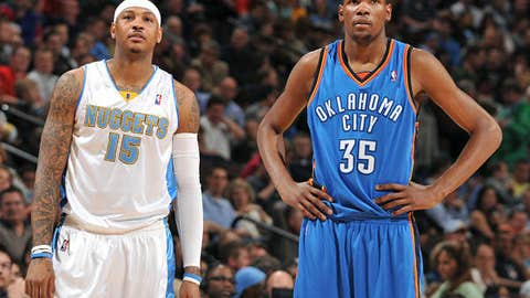 Small forwards, large games