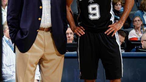 Coach: Gregg Popovich, Spurs