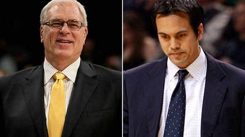 Coaches: Phil Jackson vs. Erik Spoelstra