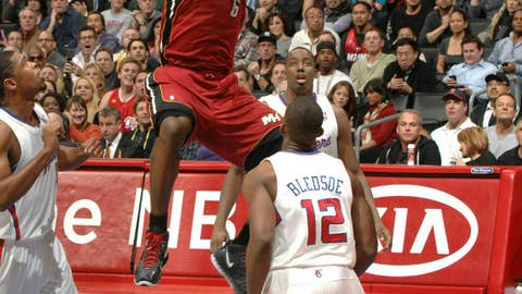 East forward: LeBron James, Heat