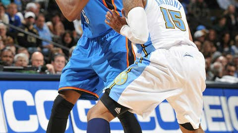West forward: Kevin Durant, Thunder