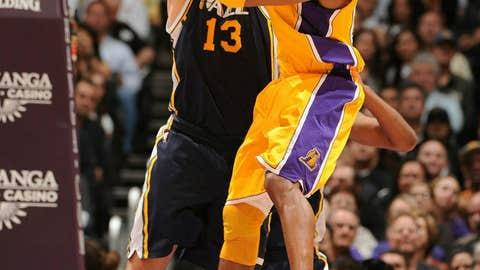 West guard: Kobe Bryant, Lakers
