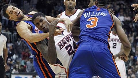 Down goes Frazier... er, Williams
