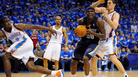 Did the Thunder figure out Zach Randolph?
