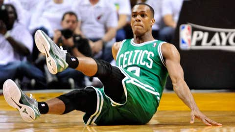 Is Rondo ready to get up and go?