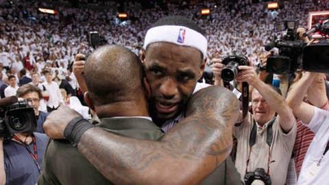 LeBron James (AP Photo/Wilfredo Lee)