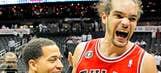 Thursday's Bulls-Hawks Game 6 photo gallery