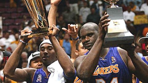 Sharing championships with Kobe