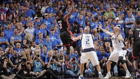 No stopping Wade