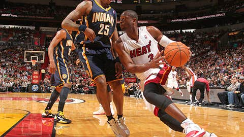 Nov. 22: Wade, three points?