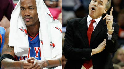 Stephon Marbury vs. Mike D'Antoni