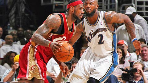 LeBron James vs. DeShawn Stevenson