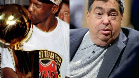 Michael Jordan vs. Jerry Krause