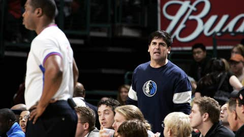 Mark Cuban vs. NBA refs