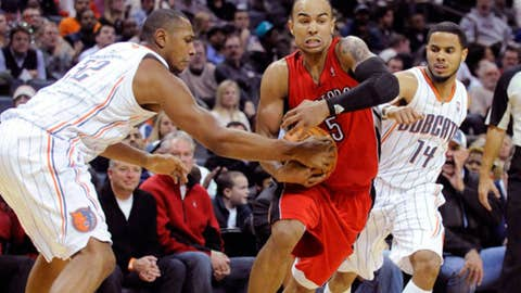 Don't miss: Bobcats-Raptors