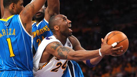 Do miss: Kobe at work