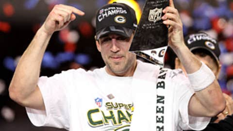 Aaron Rodgers wins Super Bowl