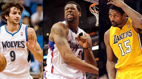 Wolves Clippers Lakers