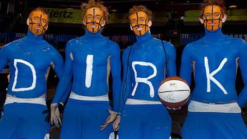 Dallas Mavericks fans