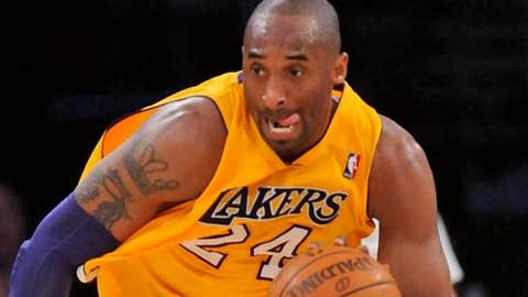 Image: Los Angeles Lakers guard Kobe Bryant (© Jayne Kamin-Oncea/US Presswire)