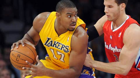 West C: Andrew Bynum, Lakers