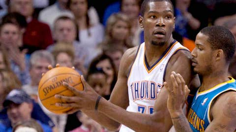 West F: Kevin Durant, Thunder