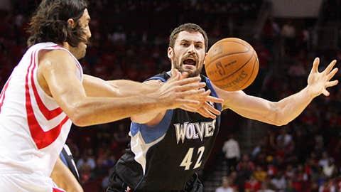 Kevin Love, PF, Minnesota Timberwolves