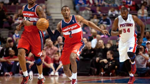 Disappointment: John Wall