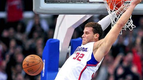 Blake Griffin's reverse alley opp slam dunk