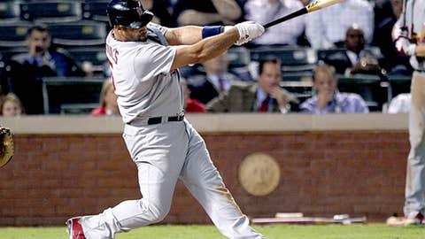 Albert Pujols' three home runs in 2011 World Series game