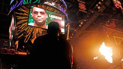 LeBron James, SF, Miami Heat