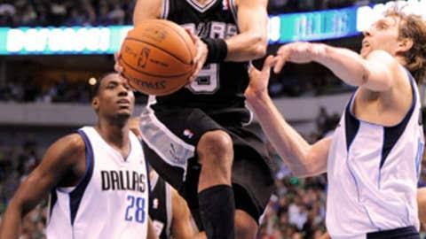 Tony Parker, PG, San Antonio Spurs