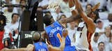 NBA playoffs action photos