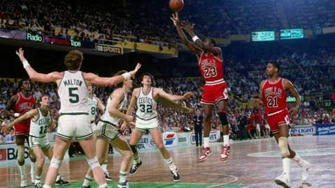 Michael Jordan, Game 2 of 1986 first round