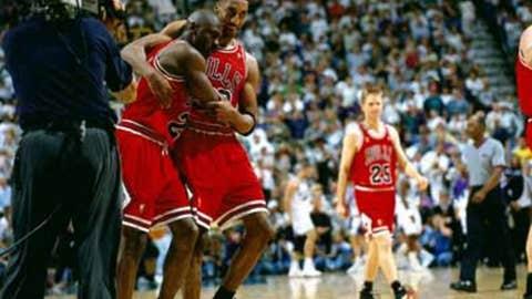 Michael Jordan, Game 5 of 1997 Finals
