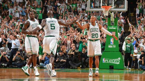 7. Kevin Garnett and Ray Allen to Boston for random parts (2007)