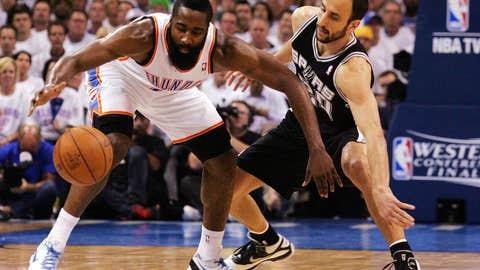 San Antonio Spurs v Oklahoma City Thunder - Game Six