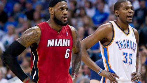 Who's better? LeBron or Durant?