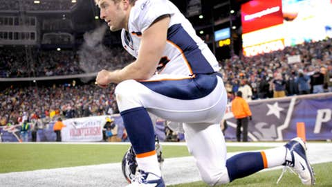 Tim Tebow's knee