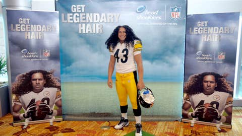 Troy Polamalu's hair