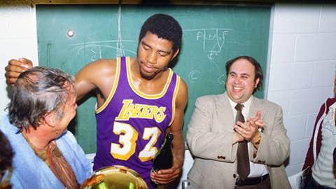 Jerry Buss + Magic = championships