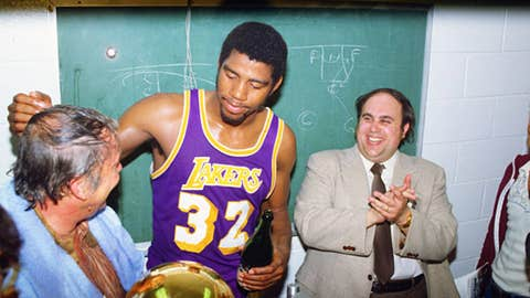 Jerry Buss + Magic = championships