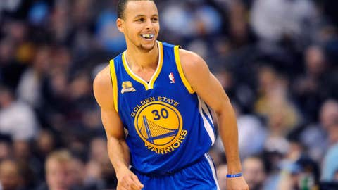 Stephen Curry, PG, Warriors