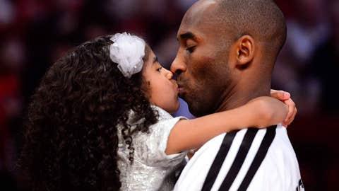 Good-luck kiss